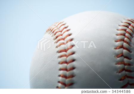 Rigid baseball ball 34344586