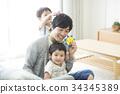 父母身份 父母和小孩 儿童 34345389