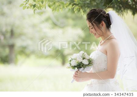 婚紗禮服女性婚姻新娘 34347435
