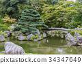 녹색, 다이고지, 연못 34347649