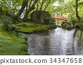 녹색, 다이고지, 연못 34347658