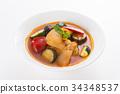 料理鼠王 燉菜 法國食品 34348537