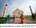 Taj Mahal in Agra, India, 34349197