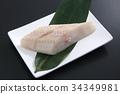 생선 토막, 토막 생선, 가자미 34349981