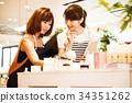 점원 점원 여성 직원 잡화 전문점 촬영 협조 : TENOHA DAIKANYAMA 34351262