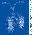 矢量 矢量图 自行车 34353652