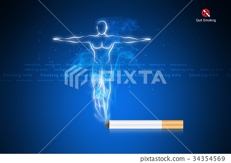 Smoking kills human body 34354569