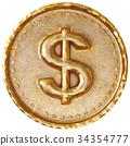 美元 硬幣 錢幣 34354777