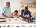 Boy, Father, Grandfather 34359619