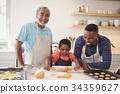 Boy, Father, Grandfather 34359627