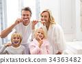 Bathroom, Brushing, Teeth 34363482