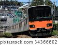 Tobu系列50070在東橫線上運行 34366602