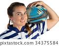 女性 女 橄榄球 34375584