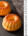 戚风蛋糕 甜点 甜品 34375713