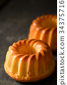 戚风蛋糕 甜点 甜品 34375716