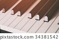 close up photo of piano keys 34381542