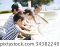 물놀이를하는 어린이 34382240
