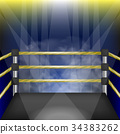 Professional Empty Boxing Ring 34383262