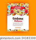 Autumn Seasonal Poster 34383300