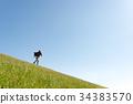 ผู้ชาย,ชาย,ทุ่งหญ้า 34383570