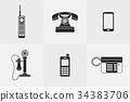phone, evolution, telephone 34383706