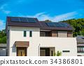 生态屋 光伏 太阳能 34386801