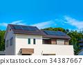 蓝天和新建筑eco房子 34387667