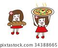 baker, pizza, pizzas 34388665