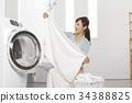 媽媽,家庭主婦,洗衣店 34388825