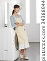 洗衣機 清洗機 女子 34388944
