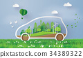 eco car concept 34389322