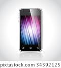 background, white, vector 34392125