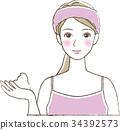 女性 女 女人 34392573