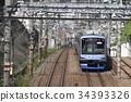 火车 电气列车 东急东横线 34393326