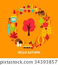 autumn, fall, abstract 34393857