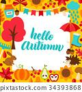 autumn, lettering, crop 34393868
