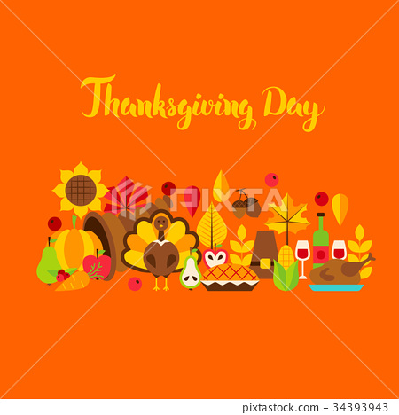 Thanksgiving Day Greeting Card 34393943