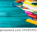 stationery school pen 34395493