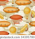 氣球 汽球 復古 34395780