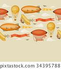 氣球 汽球 復古 34395788