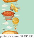 氣球 汽球 復古 34395791