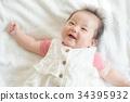 微笑的女婴 34395932
