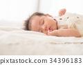 成熟的女人 一個年輕成年女性 女生 34396183