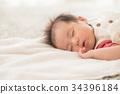 女孩 婴儿 宝宝 34396184