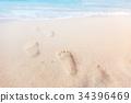 sea foot seascape 34396469