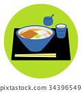 키츠네 우동, 식단, 담아 34396549