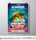 background, party, summer 34398033