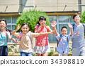 초등학교 그라운드 하교 34398819