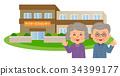 日間服務和老年夫婦 34399177