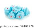 marshmallow isolated on white background 34400976